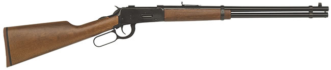Mossberg Model 464 Rifle 41010, 30-30 Winchester, Lever, 20 in, Hardwood Stock, Blue Finish, 6 + 1 Rd