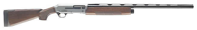 Browning Silver Sporting Shotgun 011377428, 12 GA, Semi-Auto, 28 in BBL, 2 3/4 in Chmbr, Satin Walnut Stock, Blue/Silver Rcvr Finish, 4 + 1 Rds