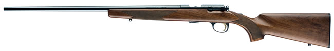 Browning T-Bolt Sporter Left Hand Rifle 025184202, 22 Long Rifle, Bolt Action, 22 in BBL, Satin Walnut Stock, Blue Finish, 10 + 1 Rd