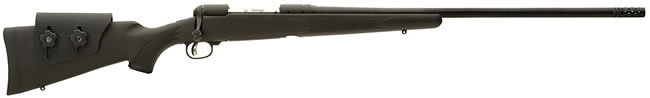 Savage Model 11 Long Range Hunter Rifle 18894, 308 Win, Bolt Action, 26 in BBL, Black Syn AccuStock Stock, Matte Black Finish, 2 + 1 Rd, Hnged Flrplt