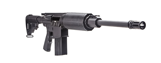 DPMS Panther Oracle Rifle RFA3OC, 223 Rem, 16 in, Semi-Auto, Collapsible Stock, Black Finish, 30 + 1 Rd