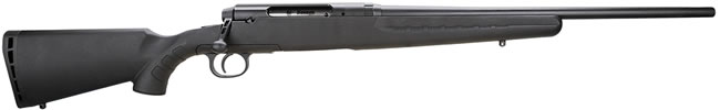 Savage Axis Youth Rifle 19227, 243 Winchester, 20 in, Bolt Action, Black Syn Stock, Black Finish, 3 + 1 Rd