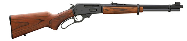 Marlin Model 336 Youth Rifle 70524, 30-30 Winchester, 16.25 in, Lever Action, Walnut Stock, Blue Finish, 5 + 1 Rds