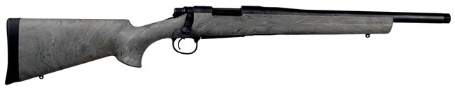 Remington Model 700 SPS Tactical Rifle 84205, 300 Black Out, 16.5 in, Bolt Action, Hogue Overmold Grn Stock, Black Finish
