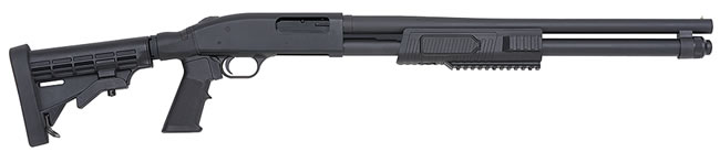 Mossberg Model 500 SP Flex Tactical Shotgun 51672, 12 Gauge, Pump, 6 Pos Black Syn Stock, Matte Blue Finish, CB,