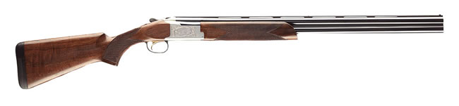 Browning Citori 725 Feather Shotgun 0135663004, 12 Gauge, 28 in, 3 in Chmbr, Over/Under, Grade II/III Walnut Stock, Blued Finish
