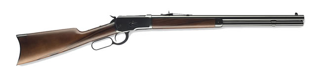 "Winchester Model 1892 Short Rifle 534162137, 357 Mag, 20"" BBL, Lever Act, Oil Finish Grade I Walnut Stock, Gloss Blued Finish, 10 + 1 Rd"