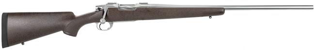 "Nesika Long Range Sporter Rifle 60302, 30-06 Springfield, Douglas Stainless 24"" BBL, Bolt Action, B&C Medalist Comp Stock, Brown w/ Black Spiderweb Finish, 1 Rd"