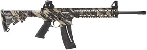 Smith and Wesson M&P 15-22 Rifle 81105, 22 LR, 16 in BBL, Semi Auto, 6-Pos Collapsible Stock, Tan/Black Finish, 25+1 Rds