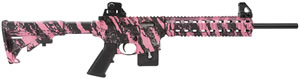 "Smith & Wesson M&P 15-22 Rifle 811052, 22 LR, 16.5"" BBL, Blow-Back Action, Fixed Stock, Pink Platinum/Black Finish, 10 + 1 Rd, MA Compliant"