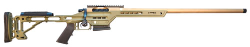 "Masterpiece Arms Bolt Action Lite Rifle MPA308BALITE, 308 Win/7.62, 20"" BBL, Bolt Action, Adj Black Stock, FDE/Green Finish, 3+1 Rds"