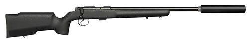 CZ Model 455 Varmint Tacticool Rifle 02159, 22 LR, 16.5 in Threaded BBL, Bolt Action, Tacticool Stock, Black Finish, 5+1 Rds