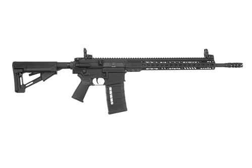 "Armalite AR-10 Tactical Rifle AR10TAC18, 308 Win/7.62 NATO, 18"" Black Cerakoted Stainless BBL, Semi-Auto, Magpul STR Stock, 15"" Rail, Black Finish, 25+1 Rds"