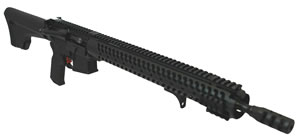 "Adams C.O.R Tactical Evo Ultra Lite Rifle RA165REULCOR, 5.56 NATO, 16.5"" Lightweight BBL, Semi Auto, Magpul MOE Black Fixed Stock, Black Hard Coat Finish, 30+1 Rds"