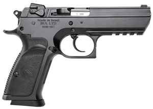 "Magnum Research BE99003R Baby Desert Eagle III Steel Full Size Pistol, 9mm, 4.4"" BBL, Single/Double Act, 10+1 Rds"