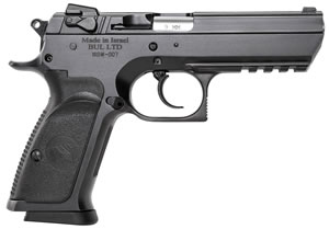 "Magnum Research BE99153R Baby Desert Eagle III Steel Full Size Pistol, 9mm, 4.4"" BBL, Single/Double Act, 16+1 Rds"