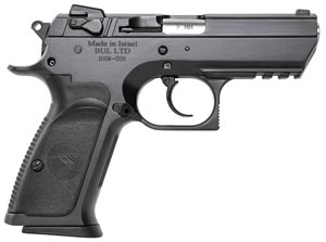 "Magnum Research BE45003RS Baby Desert Eagle III Steel Semi-Compact Pistol, 45 ACP, 3.8"" BBL, Single/Double Act, 10+1 Rds"