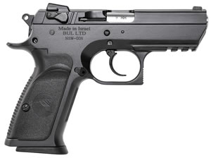 "Magnum Research BE99153RS Baby Desert Eagle III Steel Semi-Compact Pistol, 9mm, 3.8"" BBL, Single/Double Act, 16+1 Rds"