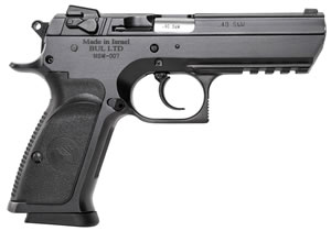 "Magnum Research BE94003R Baby Desert Eagle III Steel Full Size Pistol, 40 S&W, 4.4"" BBL, Single/Double Act, 10+1 Rds"