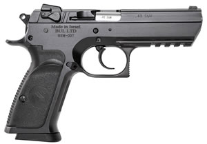 "Magnum Research BE94133R Baby Desert Eagle III Steel Full Size Pistol, 40 S&W, 4.4"" BBL, Double Act, 13+1 Rds"
