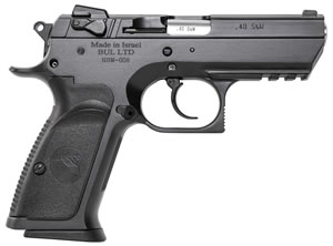 "Magnum Research BE94003RS Baby Desert Eagle III Steel Semi-Compact Pistol, 40 S&W, 3.8"" BBL, Single/Double Act, 10+1 Rds"