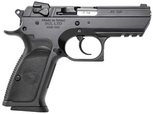 "Magnum Research BE94133RS Baby Desert Eagle III Steel Semi-Compact Pistol, 40 S&W, 3.8"" BBL, Single/Double Act, 13+1 Rds"