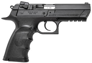 "Magnum Research BE99153RL Baby Desert Eagle III Polymer Full Size Pistol, 9mm, 4.4"" BBL, Single/Double Act, 16+1 Rds"
