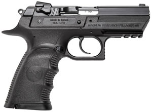 "Magnum Research BE99153RSL Baby Desert Eagle III Polymer Semi-Compact Pistol, 9mm, 3.8"" BBL, Single/Double Act, 16+1 Rds"