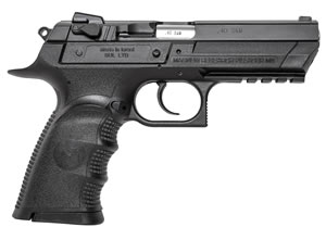 "Magnum Research BE94003RL Baby Desert Eagle III Polymer Full Size Pistol, 40 S&W, 4.4"" BBL, Single/Double Act, 10+1 Rds"
