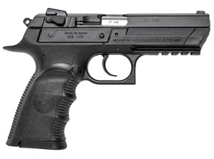 "Magnum Research BE94133RL Baby Desert Eagle III Polymer Full Size Pistol, 40 S&W, 4.4"" BBL, Single/Double Act, 13+1 Rds"