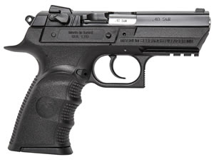"Magnum Research BE94003RSL Baby Desert Eagle III Polymer Semi-Compact Pistol, 40 S&W, 3.8"" BBL, Single/Double Act, 10+1 Rds"