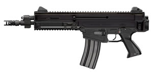 "CZ 805 Bren S1 Pistol 01361, 223 Rem/5.56 Nato, 11"" BBL, Semi-Auto, Poly Grips, Flip-Up Sights, Alum, Black Finish, 10+1 Rds"
