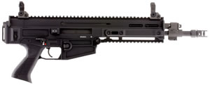 "CZ 805 Bren S1 Pistol 91361, 223 Rem/5.56 Nato, 11"" BBL, Semi-Auto, Poly Grips, Flip-Up Sights, Alum, Black Finish, 30+1 Rds"