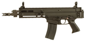 "CZ 805 Bren S1 Pistol 91362, 223 Rem/5.56 Nato, 11"" BBL, Semi-Auto, Poly Grips, Flip-Up Sights, Alum, FDE Finish, 30+1 Rds"