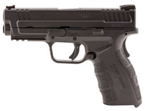 "Springfield XD Mod.2 Service Pistol XDG9102HC, 40 S&W, 4"" BBL, Dbl Act, Poly Grips, Fib Opt Front, Lo-Profile Rear Sights, Black Finish, 16+1 Rds"