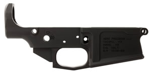 Aero Precision APAR308003C M5 308 Stripped Lower Receiver AR-15 AR Platform Multi-Caliber Black Hardcoat Anodized