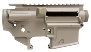 Aero Precision APCS100008 AR-15 Stripped Receiver Set Multi-Caliber Flat Dark Earth Cerakote