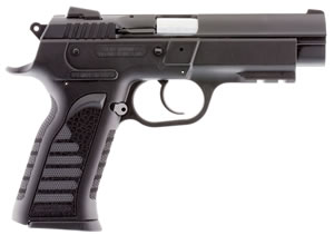 "EAA 999244 Polymer Witness Pistol, 9mm, 4.5"" BBL, Single/Double Act, Black Polymer Grips, Fixed Sights, Black Finish, 17+1 Rds"