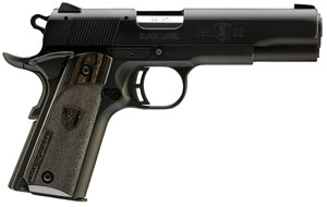 "Browning 051815490 1911-22 Compact Black Label Pistol, 22 LR, 3.5"" BBL, Single Act, Black Lam Grips, Fixed Sights, Black Finish, 10+1 Rds"