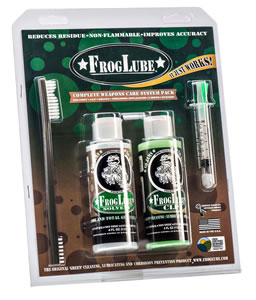 FrogLube 15234 System Kit Large Clamshell  Cleaning Kit 4 oz 4 Pieces