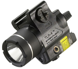 Streamlight 69241 TLR-4 Tactical Light 125 Lumens CR2 Lithium (1) Black