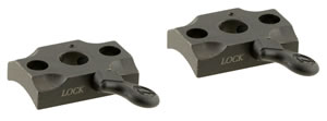 Leupold 172052 2-Piece Base For Browning Quick Release Style Black Finish