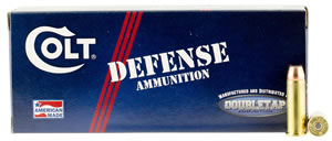 Colt Ammo 38SP110CT Defense 38 Special 110 GR JHP 20 Bx/ 50 Cs
