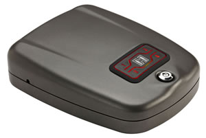 "Hornady 98177 Rapid Gun Safe Black 10.7"" x 8.7"" x 2.9"""