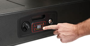 Hornady 98190 Rapid Gun Safe Black