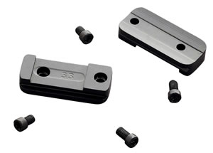 Browning 12330 2-Piece Base For Browning A-Bolt 2-Piece Style Black Gloss Finish