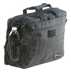 Drago Gear 15305BL Side Packs Tactical Laptop Briefcase Black