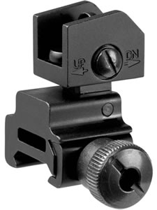 Barska AW11884 Rear Sight Tactical /Removeable AR-15/M16/M4 Picatinny