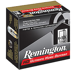 Remington Ammunition CHD38SBN Compact 38 Special Brass 125 GR JHP 20Box/25Case