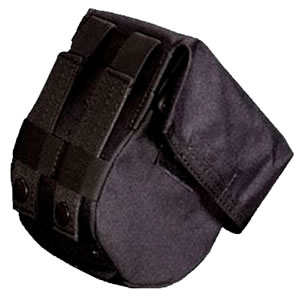 Adaptive Tactical 00998 MOLLE/Belt Pouch 10rd Drum Magazine Nylon Black